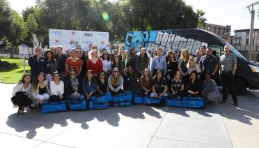 fox news sweet case team building event in los angeles california to help kids in foster care