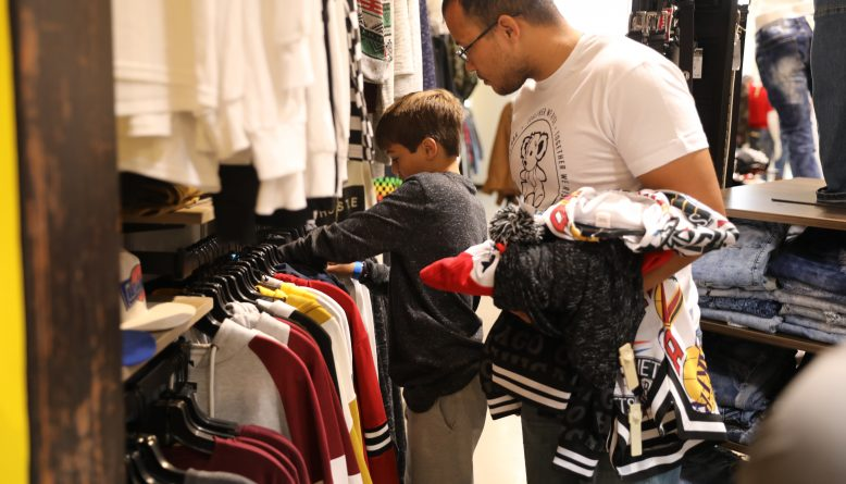 San Antonio foster teens shopping spree