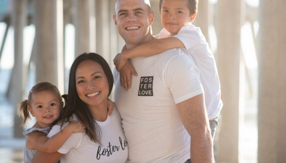 Foster Love with merchandise from Together We Rise