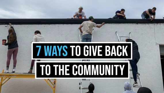 ways to give back to your community