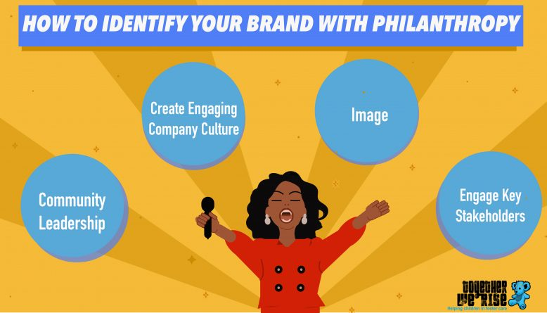 how to identify your brand with philanthropy