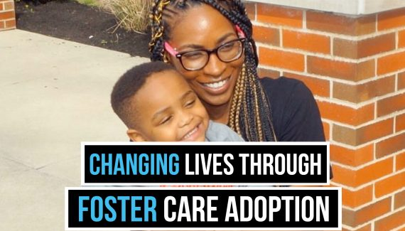 Changing lives through foster care adoption
