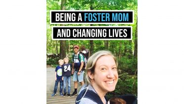 being a foster mom